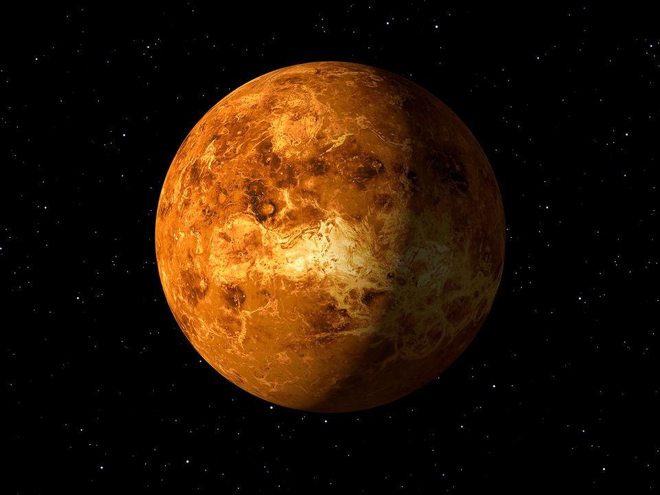 Die Venus im Weltraum