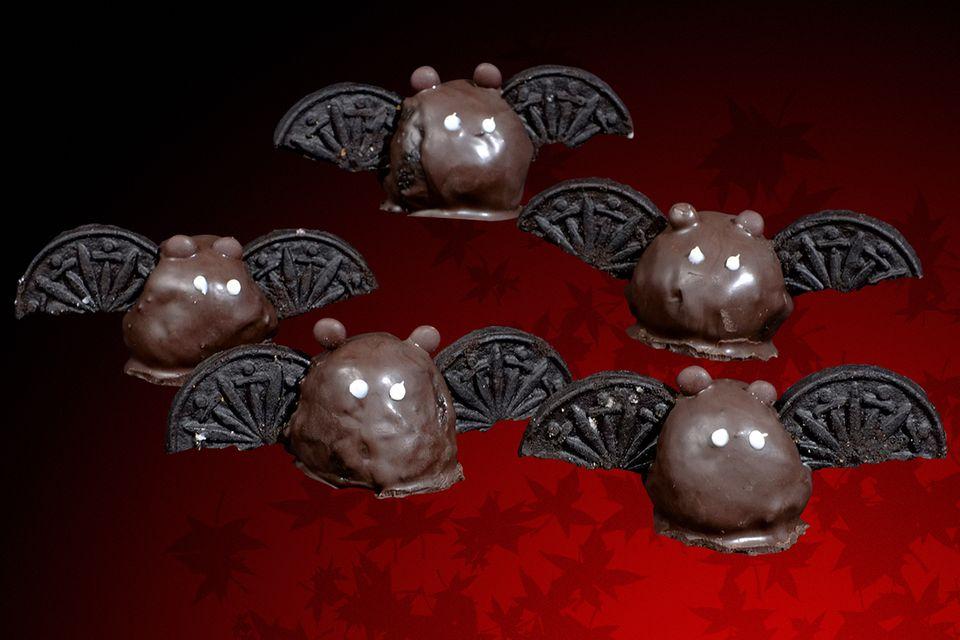 Schokoladen-Vampire zu Halloween