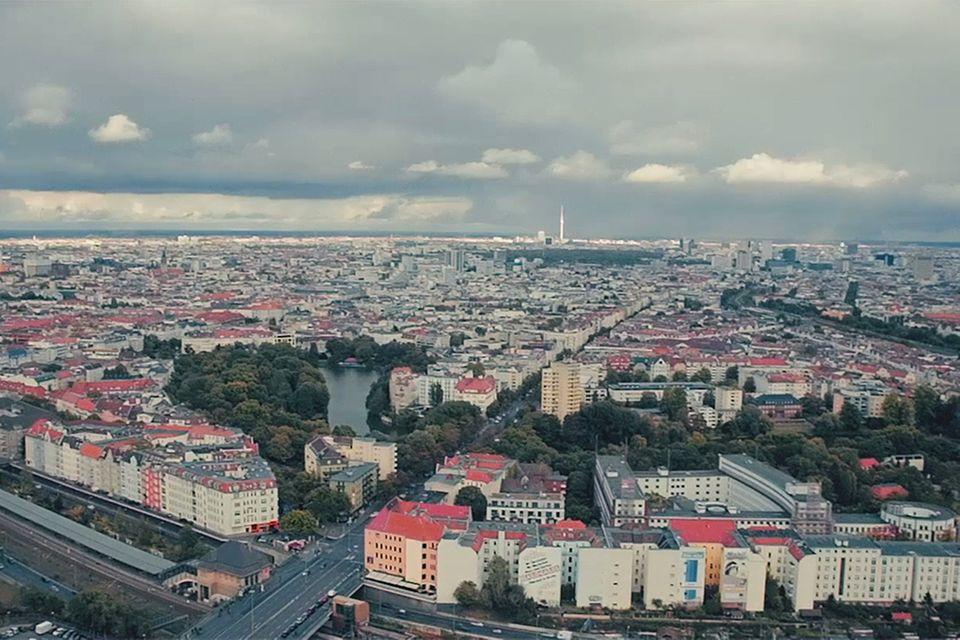 Stadtansicht von Berlin