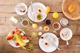 Frühstück, Essensreste