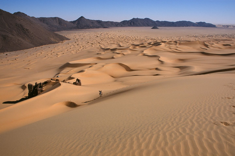 Uwe Georg, Wüste-Sahara, 1996