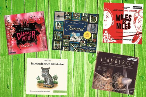 Die fünf Gewinner des BEO Kinderhörbuch-Preises 2016