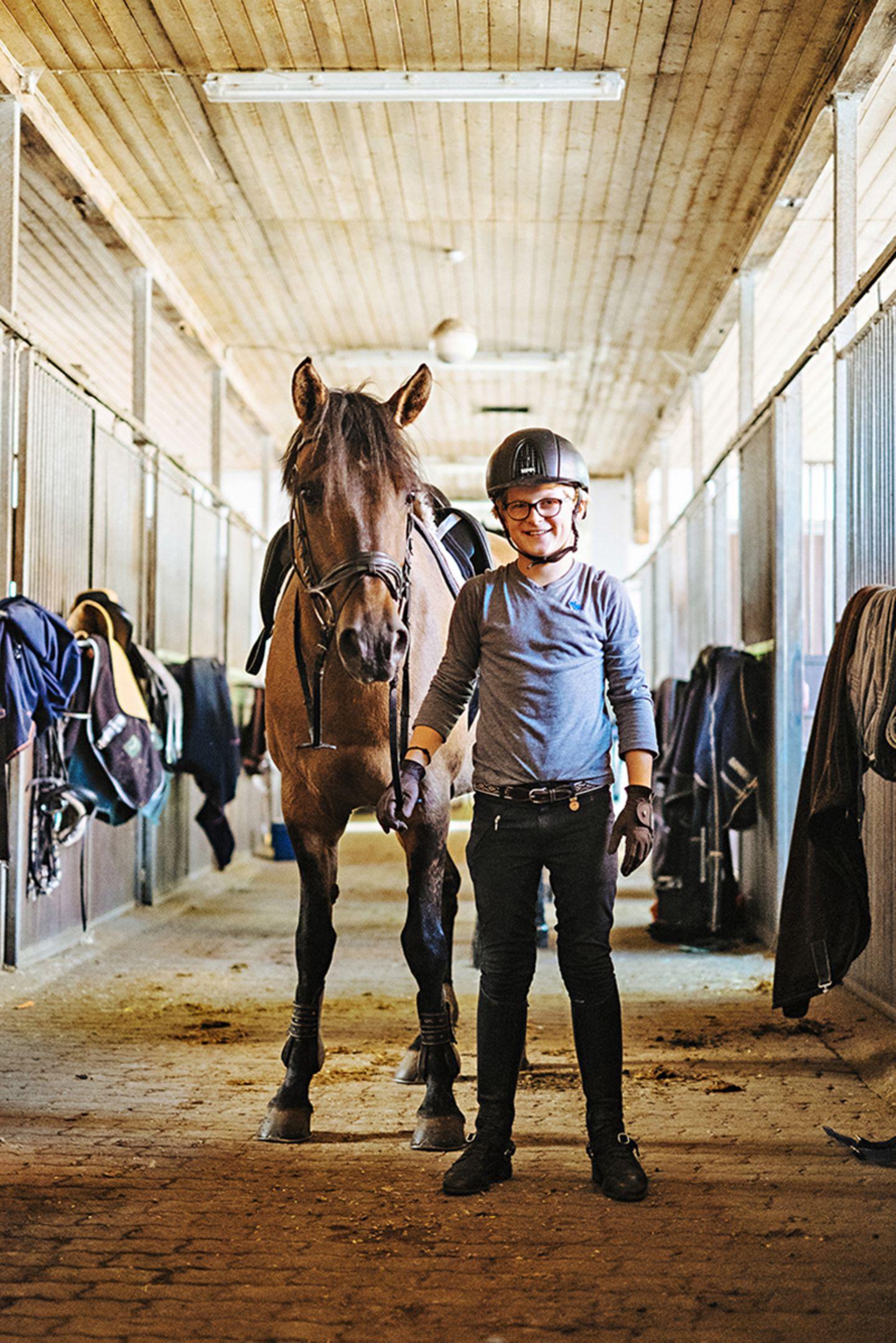 Seit drei Jahren trainieren Pony Selma und Henry zusammen
