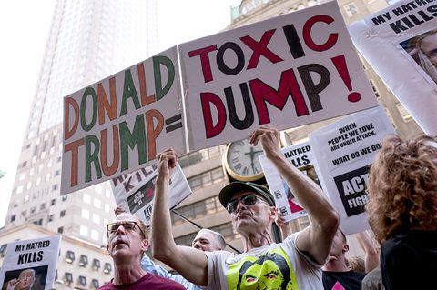 Donald Trump - Toxic Dump