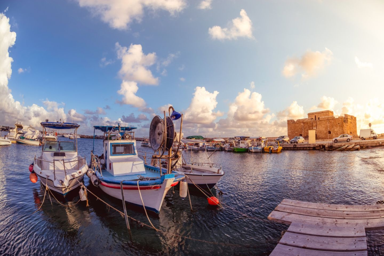 Paphos, Kastell, Hafen