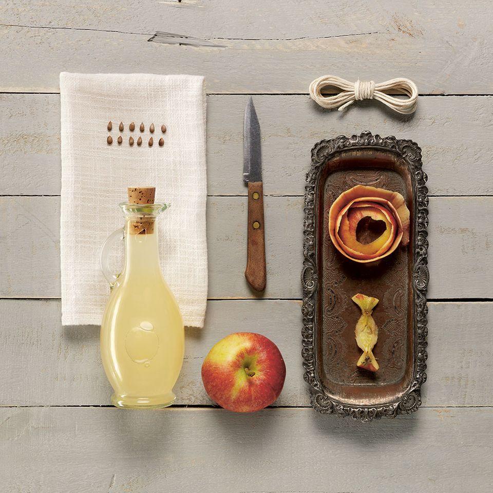 Hausgemachter Apfelessig