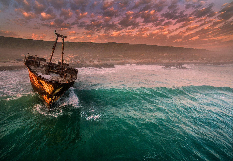 Schiffswrack, L'Agulhas