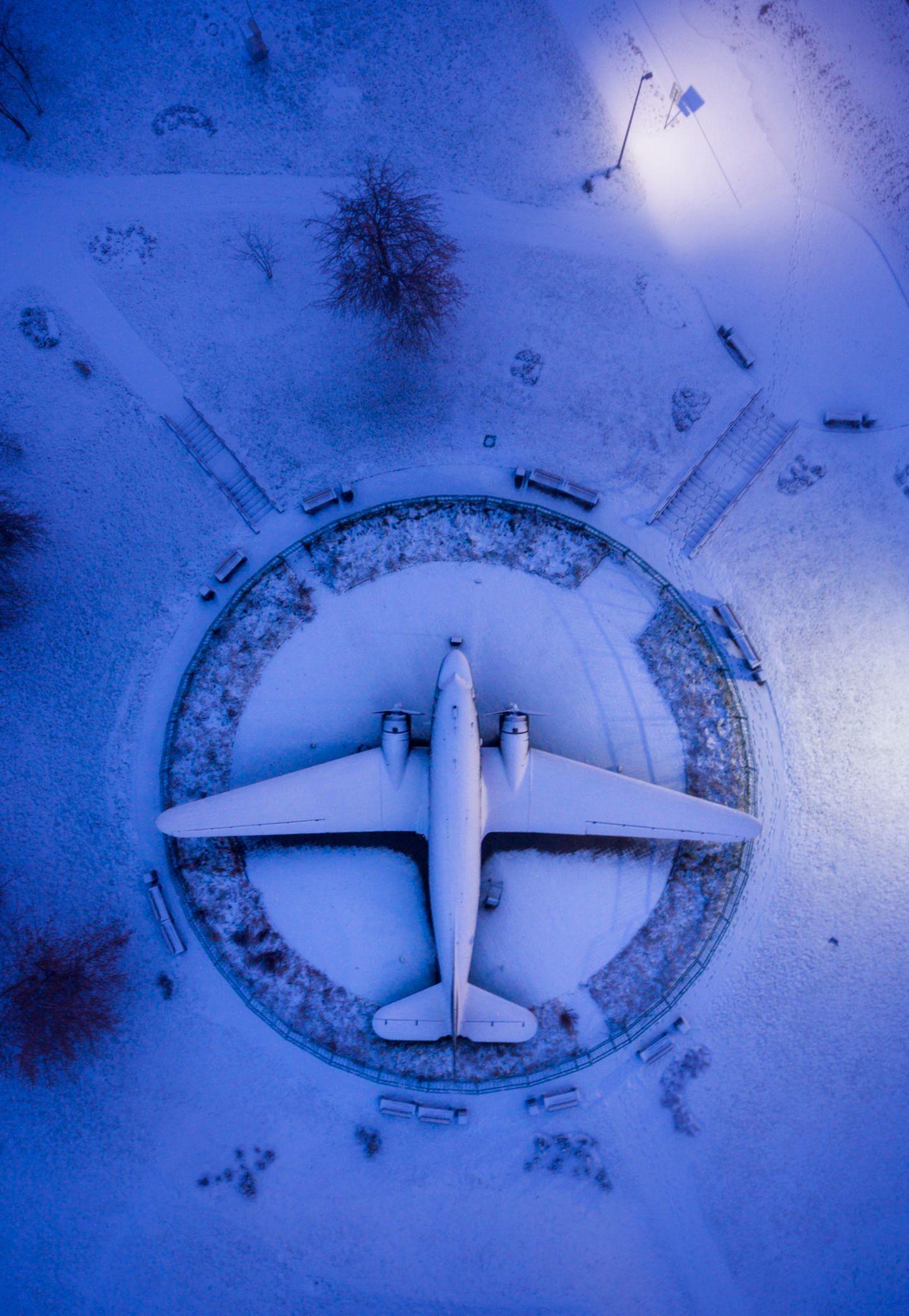 Flugzeug aus dem zweiten Weltkrieg