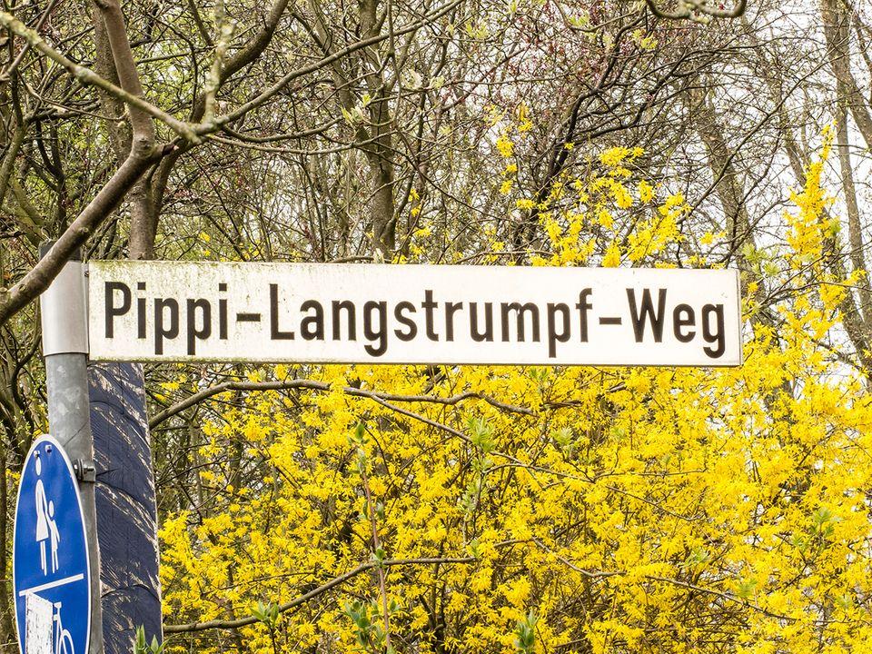 Der Pippi-Langstrumpf-Weg im Elmshorn