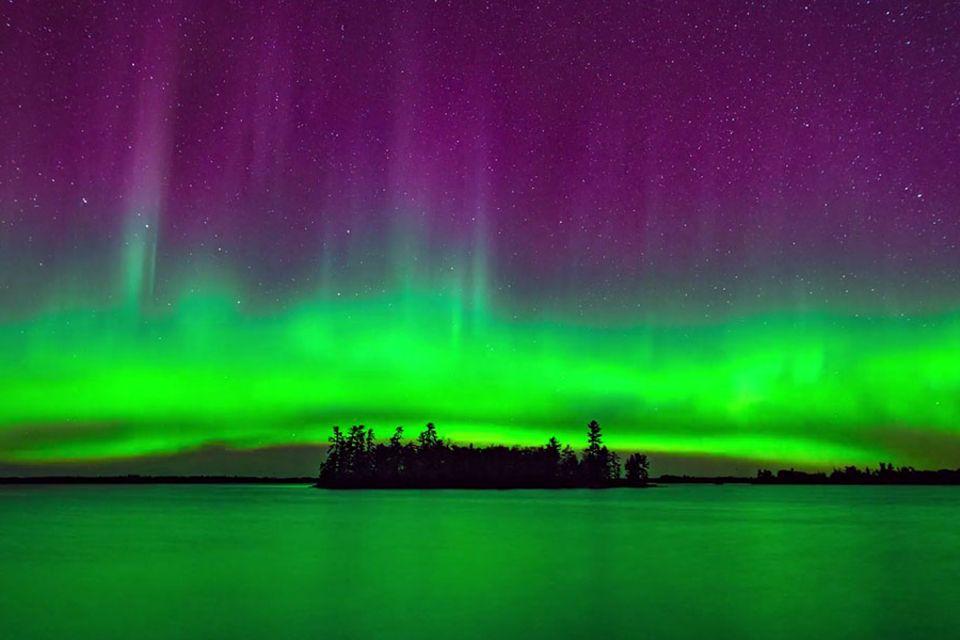 Polarlichter in Minnesota