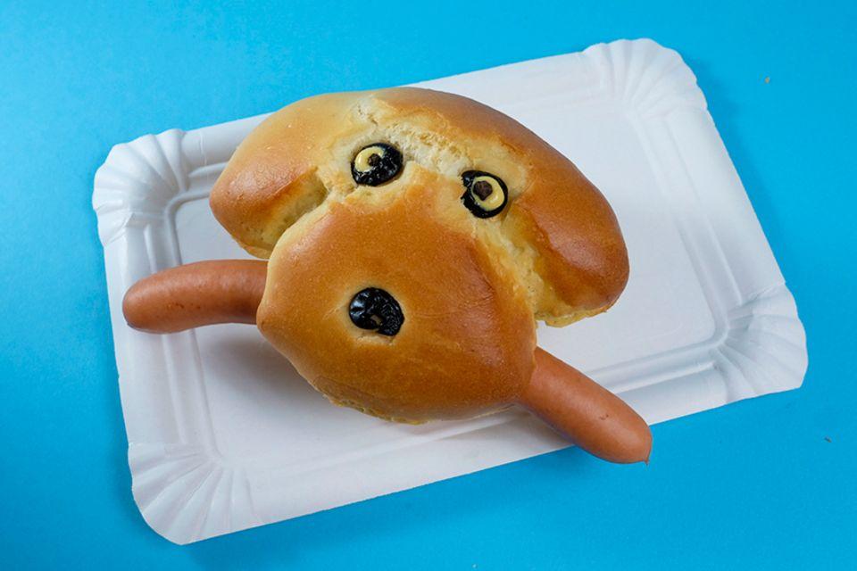 Hot Dog Rezept für Kinder