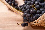 Folsäure: Dunkle Weintrauben
