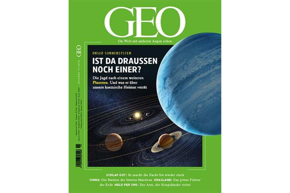 GEO Nr. 12/2016 - Unser Sonnensystem