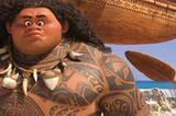 Vaiana muss Maui überzeugen, ihr zu helfen