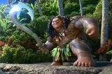 Sein Stab verleiht dem Halbgott Maui starke Kräfte