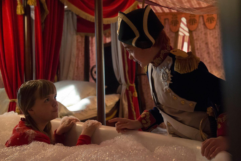 Doktor Proktors Zeitbadewanne - in Napoleons Zelt