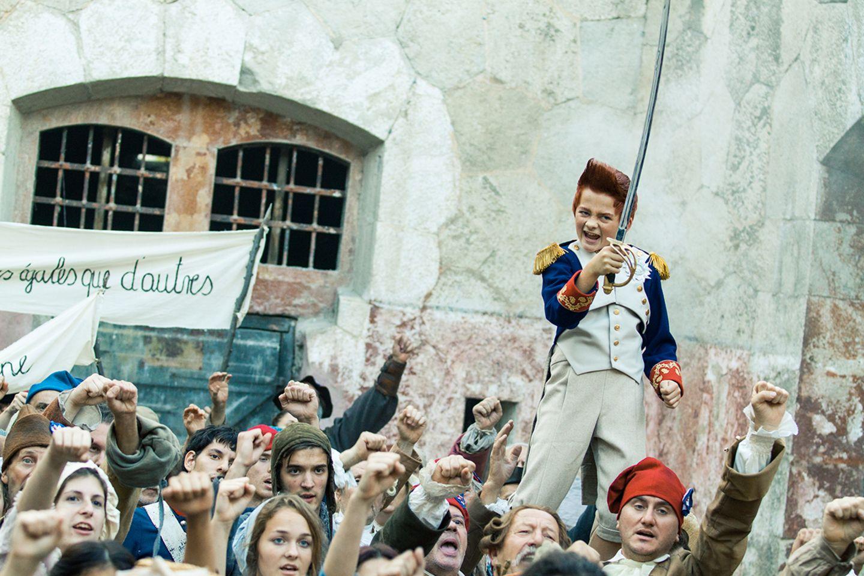 Doktor Proktors Zeitbadewanne: Bulle bei Napoleon