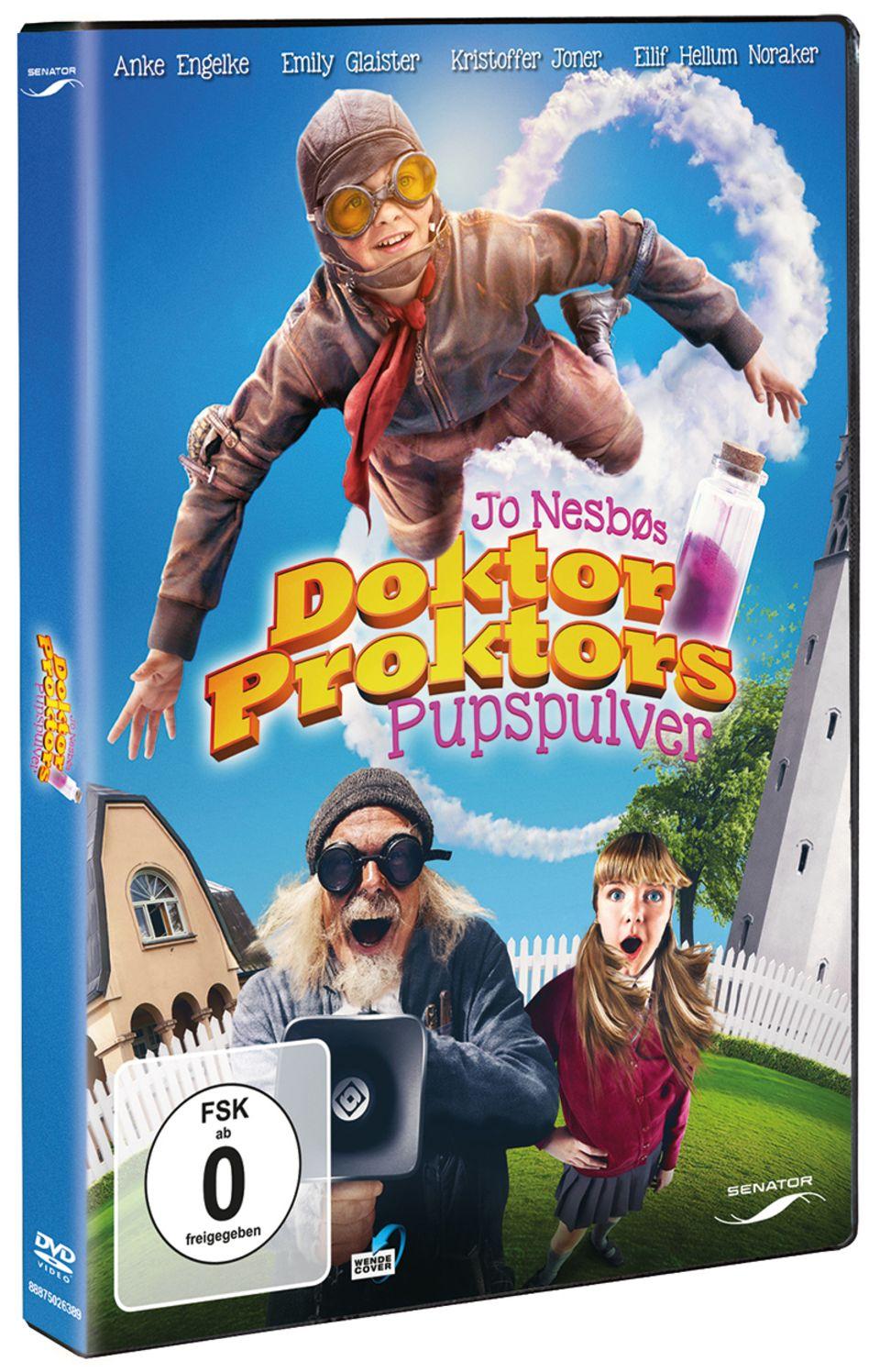 """Packshot DVD """"Doktor Proktors Zeitbadewanne"""""""