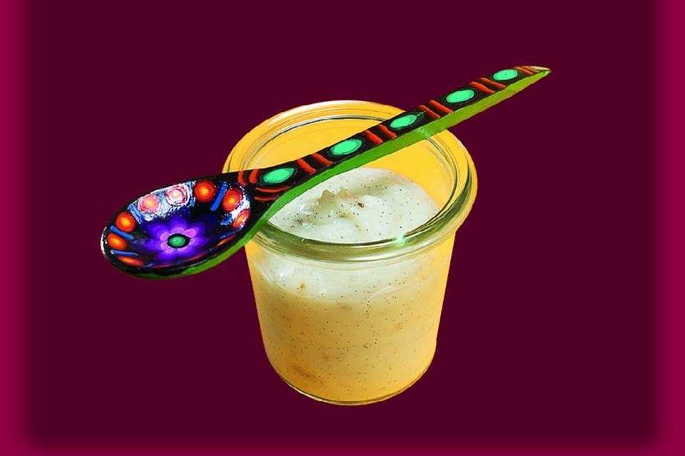 Vanillepudding ohne Palmöl