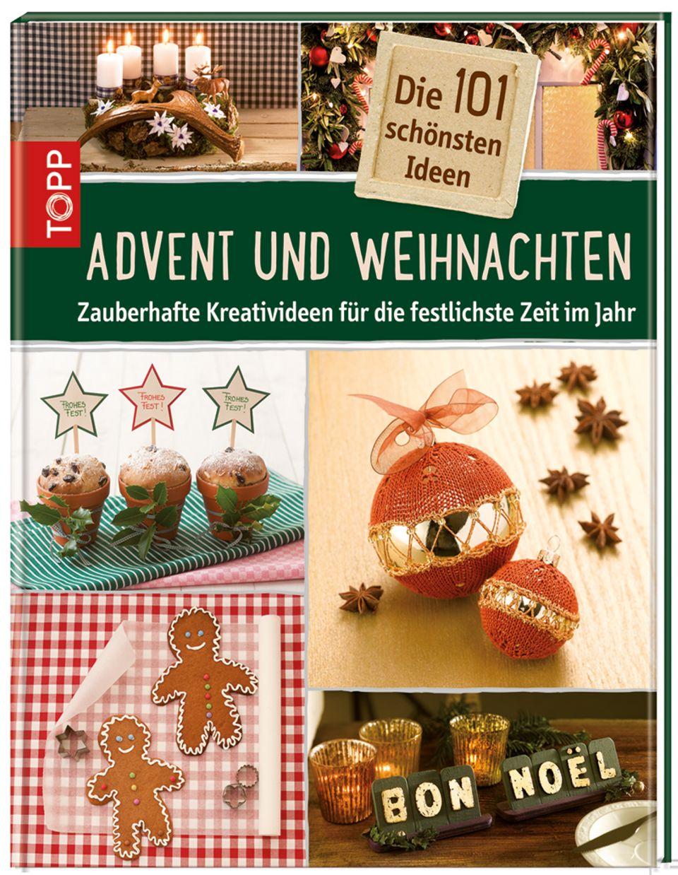 Cover: Advent und Weihnachten (Topp Kreativ)