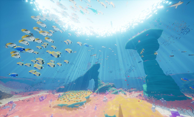 Die artenreiche Unterwasserweli in Abzû