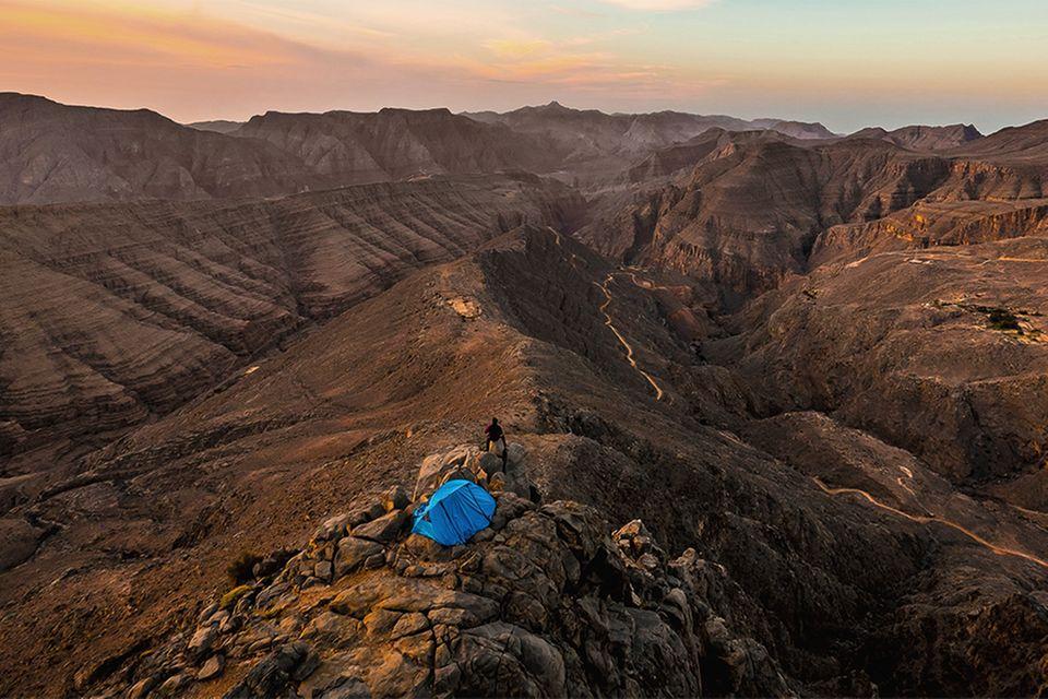 Felrücken in Musandam, Oman