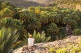 Wandern im Hajar-Gebirge