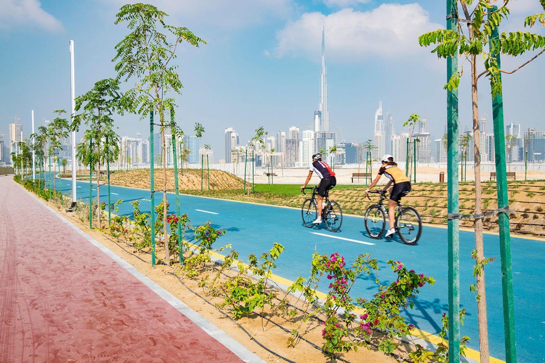 Radeln in Dubai
