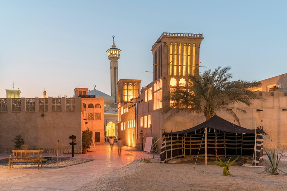 Dubai. Al Fahidi