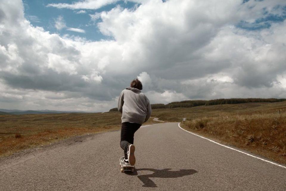 Skateboarder bereist Schottland