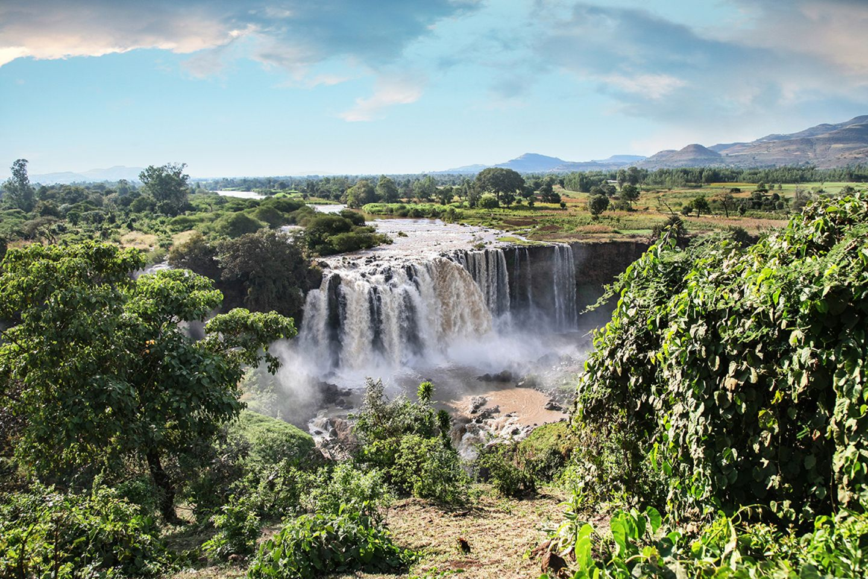 Tisisat, Ähiopien