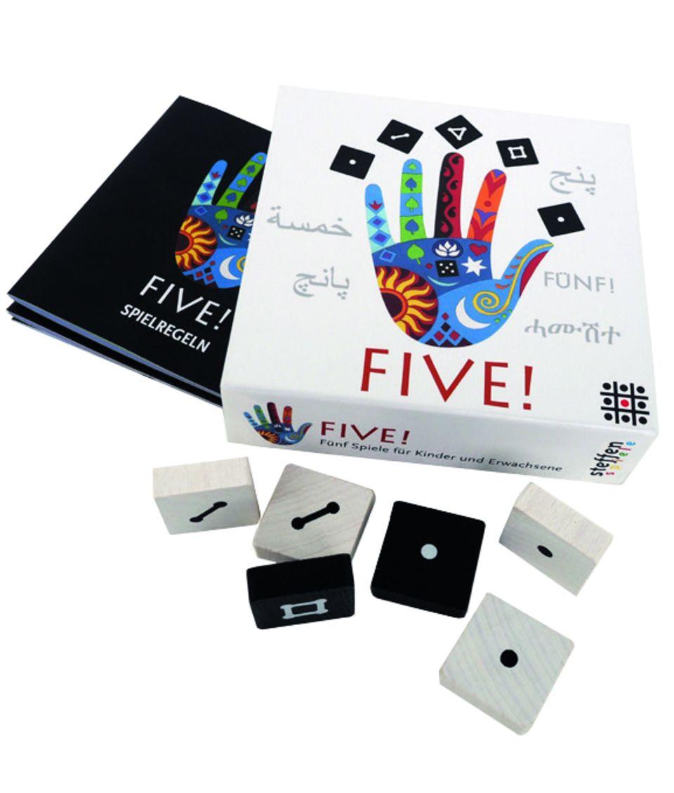 Give me five -Brettspiel