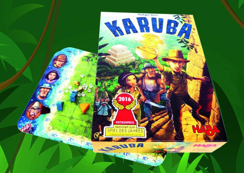 Karuba - Brettspiel