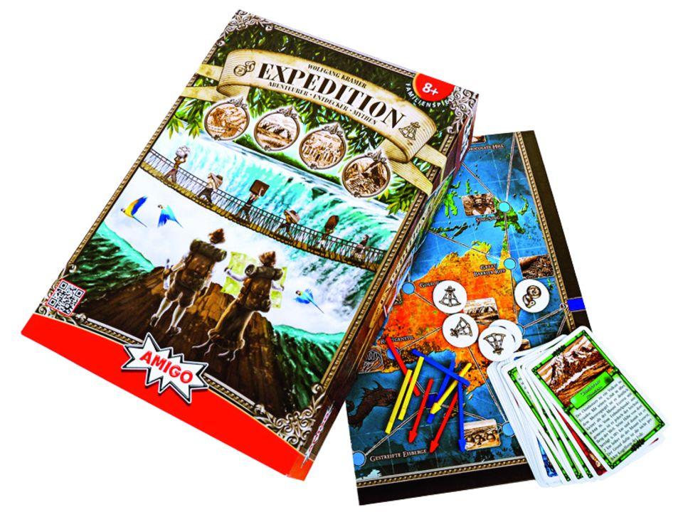 Expedition, Brettspiel - Amigo Spiele