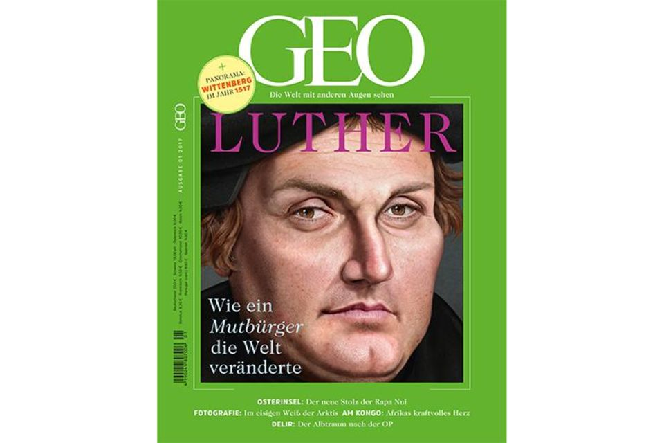 GEO Nr. 01/2017 - Luther