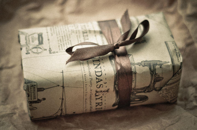 Geschenk nachhaltig verpackt