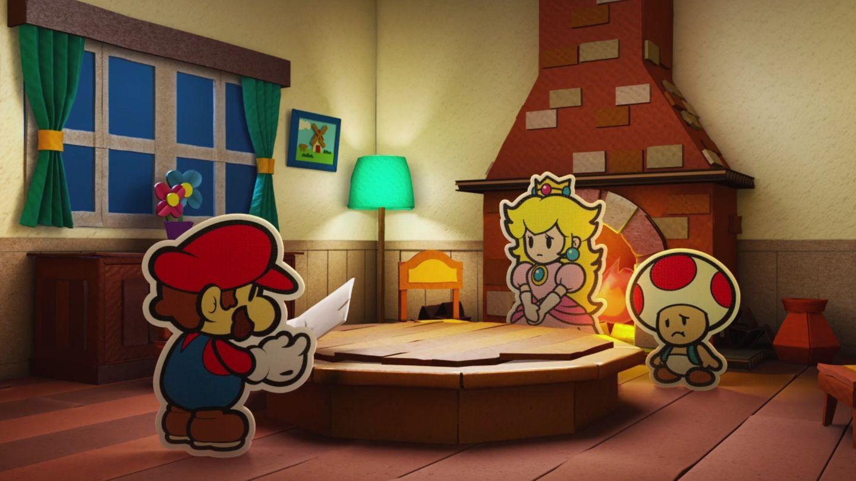Paper Mario, Peach und Toad