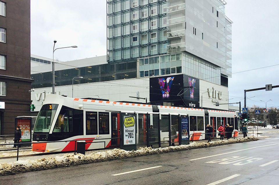 Tallin,Straßenbahn