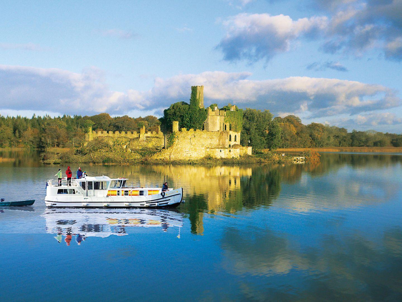 Mit dem Hausboot in Irland