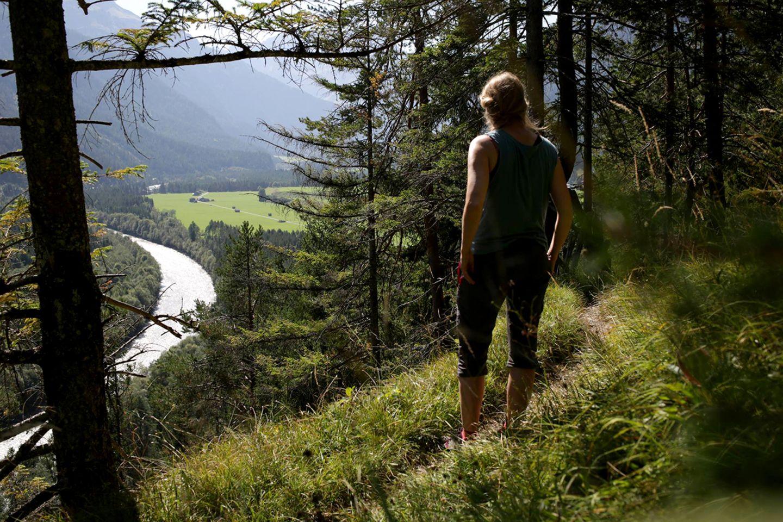 Sich einen Trail vornehmen und erwandern