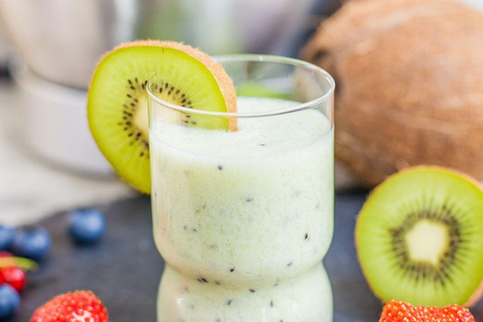 Gesunder Kiwi-Bananen Smoothie