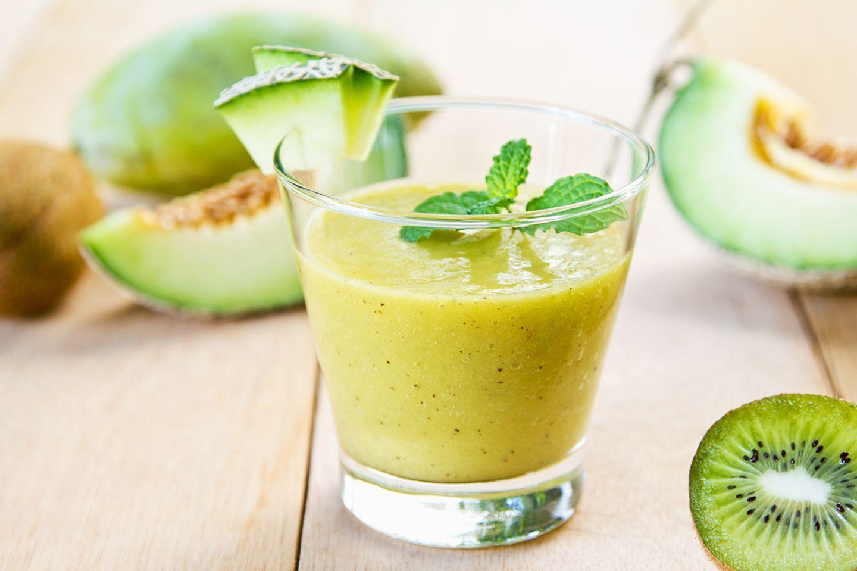 Melonen-Kiwi Smoothie