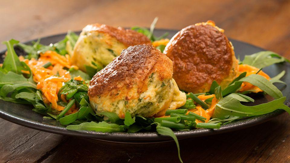 Vegetarisches Kräuter-Soufflé