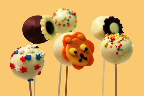 Cake Pops Tiere am Stiel