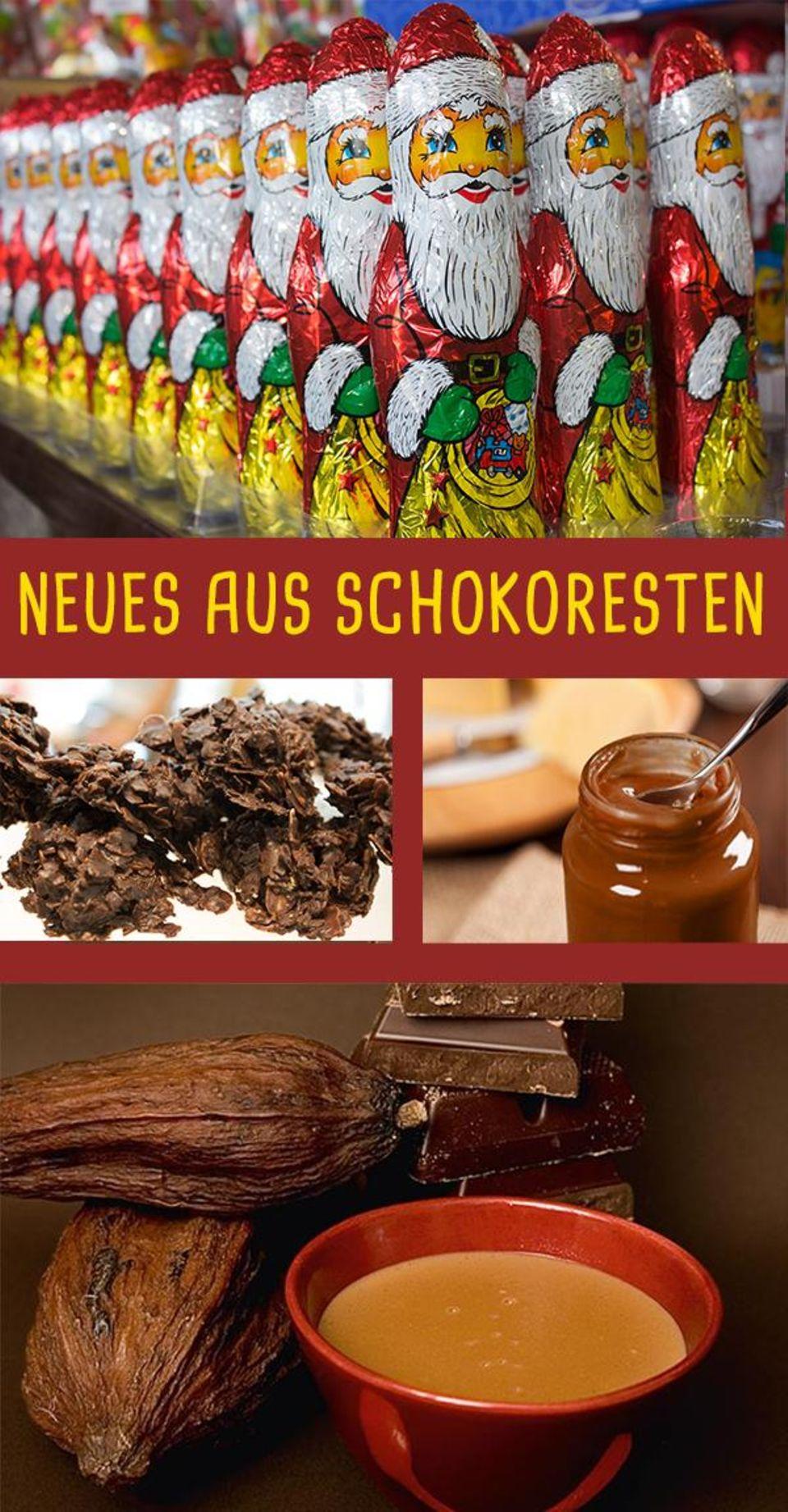 Schokoladenreste wiederverwerten