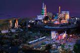 Las Vegas bei Nacht im Miniaturwunderland