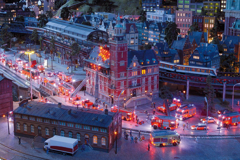 Hamburger Rödingsmarkt im Miniaturwunderland