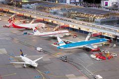 Flughafen im Miniaturwunderland Hamburg