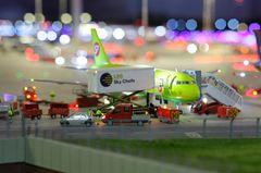 Flughafen Knuffingen im Miniaturwunderland Hamburg