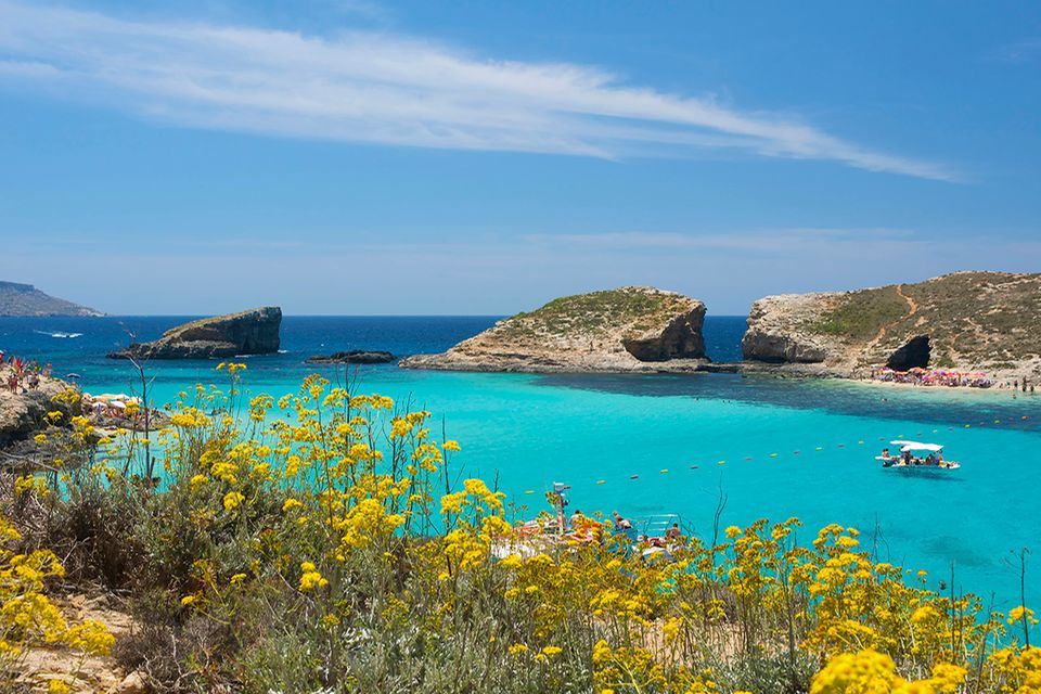 Blaue Lagune von Comino, Malta